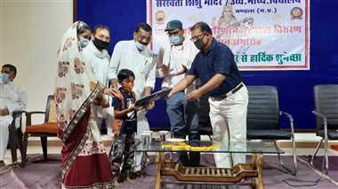 सरस्वती शिशु मंदिर में घोषित हुआ वार्षिक परीक्षा परिणाम