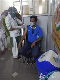 जिले में 3699 लोगों का हुआ कोविड टीकाकरण