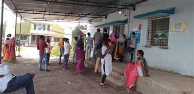 जिले में कोरोना का विस्फोट , एक ही दिन  मे मिले रिकार्ड 284 संक्रमित