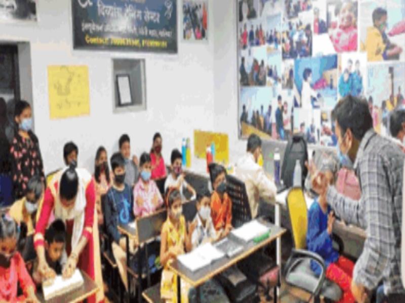 Gwalior News: दिव्यांग सीख रहे जीवन जीने की कला, कुछ दिन बाद ठहर सकेंगे सुविधायुक्त हॉस्टल में