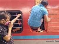 Mumbai: प्रवासी मजदूरों से खचाखच भरी ट्रेन की खबर को रेलवे ने बताया फर्जी