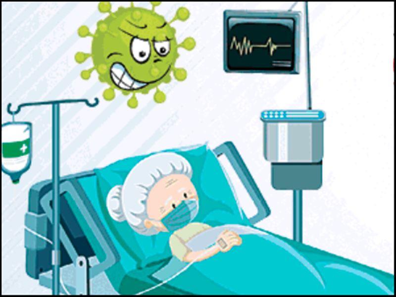 Coronavirus Cases in Indore: इंदौर में शनिवार रात 9 बजे सभी 1254 आइसीयू बेड भरे