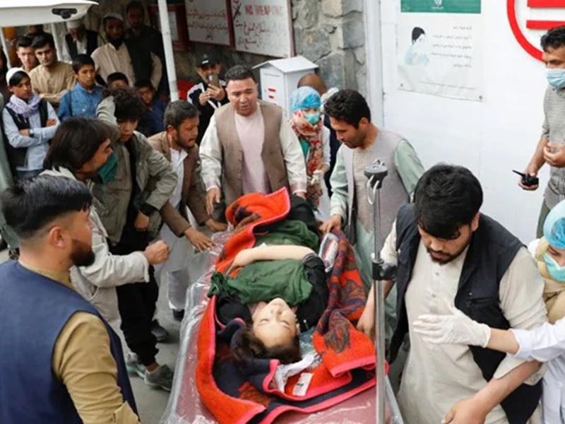 Kabul में गर्ल्स स्कूल के बाहर विस्फोट में मरने वालों का संख्या 55 हुई, ज्यादातर बच्चे शामिल