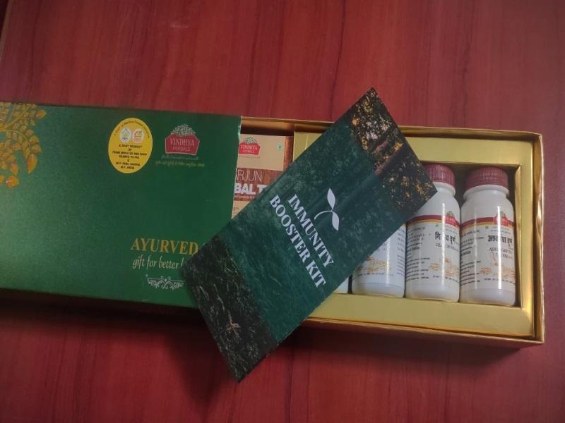 Bhopal Health News: न्यूयॉर्क तक जाएगी विंध्य हर्बल्स की इम्युनिटी बूस्टर किट