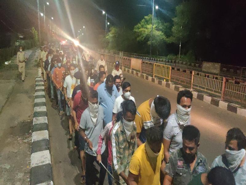 Total Lockdown in Bhopal : टोटल लॉकडाउन के दौरान होटल में चल रही थी पार्टी, 50 लोगों को लाए थाने