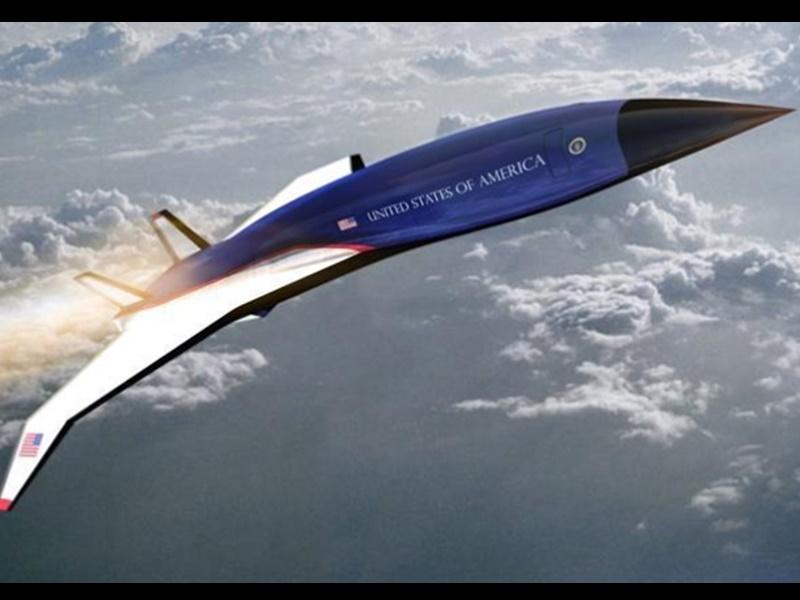 अब हाइपरसोनिक प्लेन में उड़ेंगे अमेरिकी राष्ट्रपति, Air Force One से 7 घंटे की दूरी 90 मिनटों में होगी तय