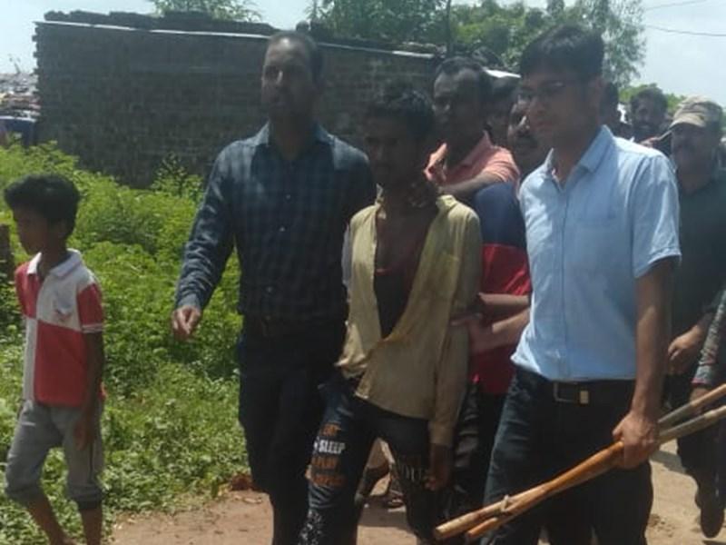 रतलाम में आंगनबाड़ी कार्यकर्ता ने थाने से भागे दुष्कर्म के आरोपित को ऐसे पकड़वाया