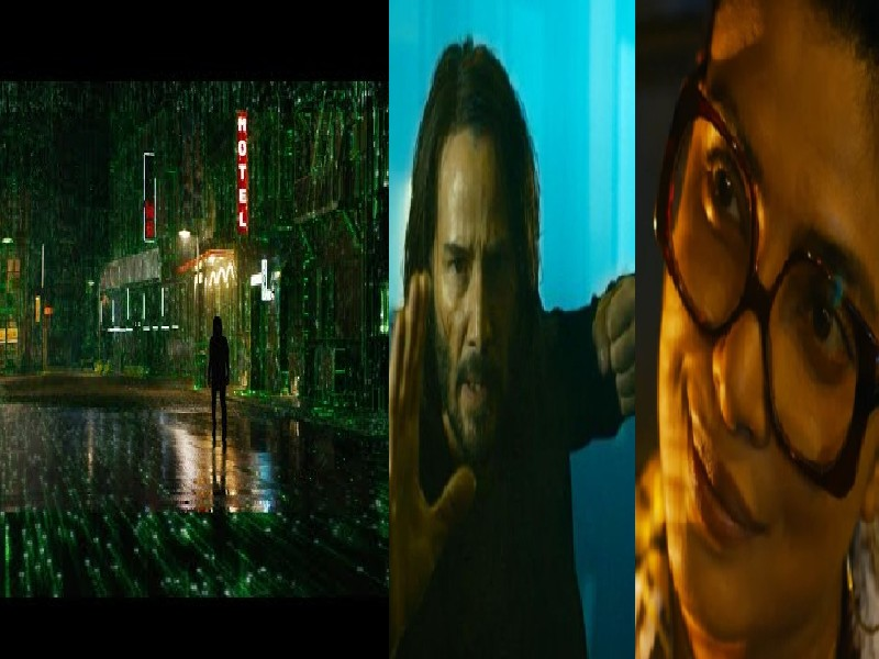 Hollywood  FilmTrailer : 'द मैट्रिक्स रिसरेक्शन्स' का ट्रेलर रिलीज, प्रियंका चोपड़ा और कियानू रीव्स का दमदार अंदाज