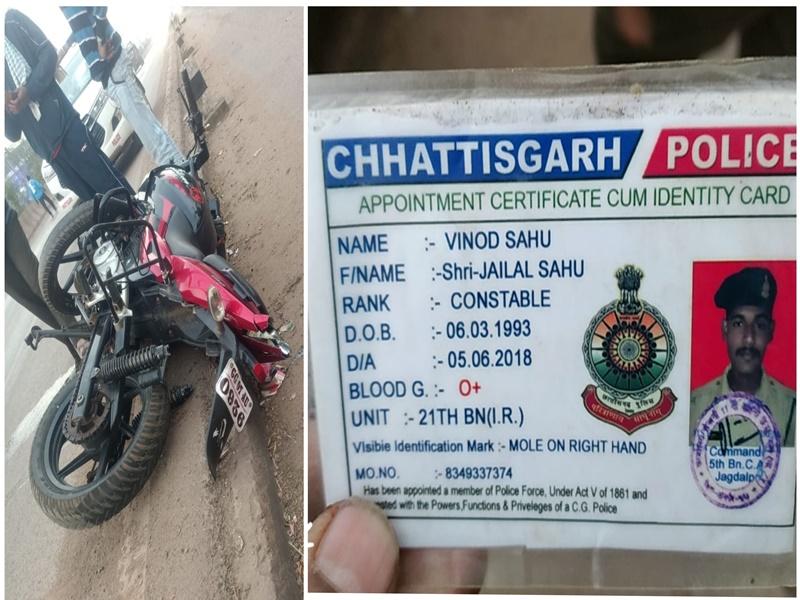 Accident In Bhilai: ड्यूटी पर निकले एसएफ के जवान को ट्रक ने पीछे से ठोका, मौके पर मौत