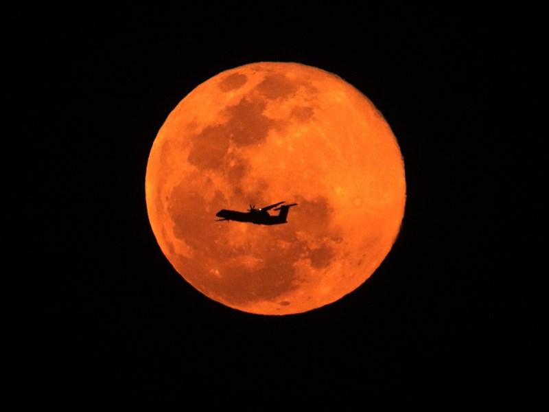 Supermoon : 14% बड़ा और 30% ज्यादा चमकदार दिखा माघ पूर्णिमा का चांद