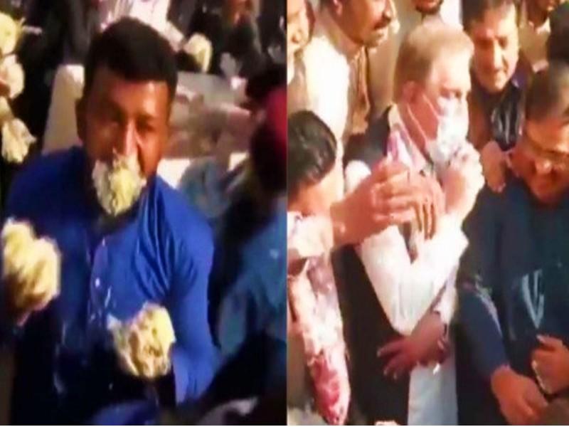Pakistan Cake Video: पाकिस्तान में केक खाने के लिए मची भयंकर लूट, विदेश मंत्री शाह महमूद कुरैशी को भागना पड़ा