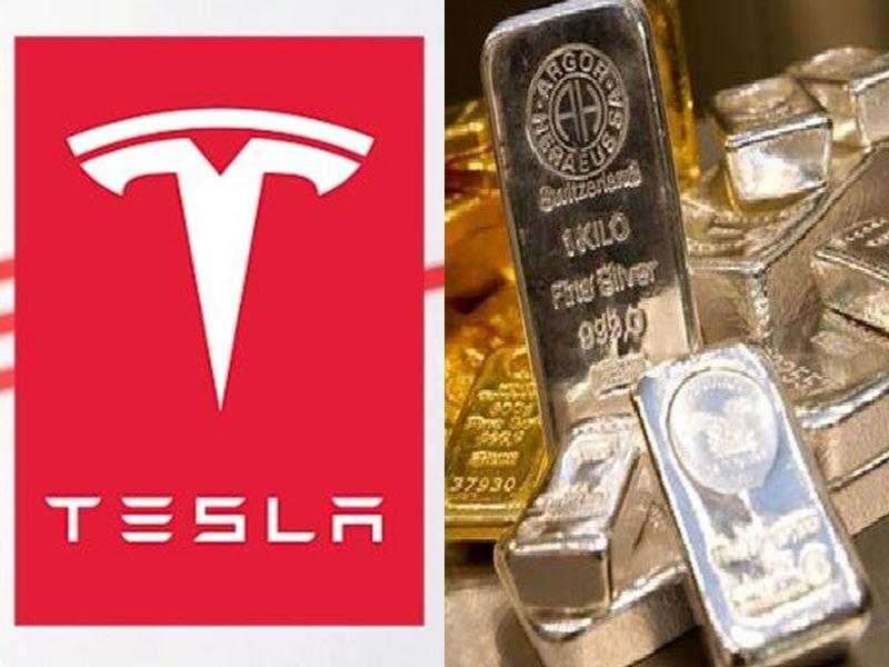 टेस्ला के भारतीय कंपनियों से करार की खबर पर चांदी के भाव बढ़े