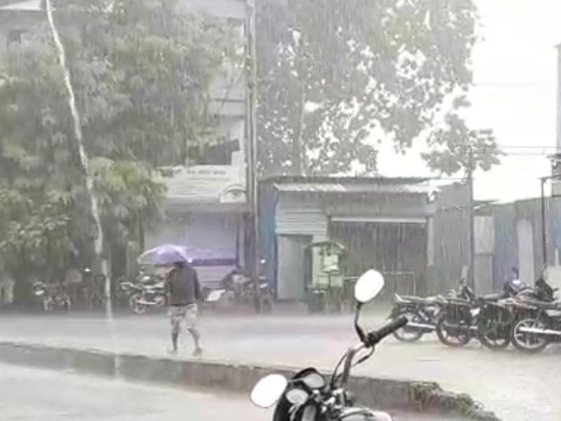 Madhya Pradesh Weather Update : मालवा-निमाड़ में अनेक जगह बारिश, पेड़ गिरे और घरों के टीन शेड उड़े