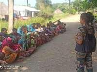 Chhattishgarh News:  महिला कमांडो बनकर गांव लौटी बेटी का जोरदार स्वागत
