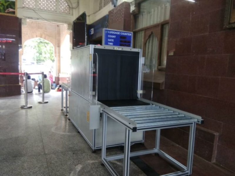Bhopal News : भोपाल स्टेशन पर बैग सैनिटाइजर सुविधा जल्द मिलेगी, आज लगाई जाएंगी दो मशीनें