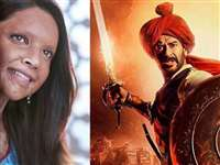 Chhapaak Vs Tanhaji Box Office Collection Day 1 : लोगों की नाराजगी से 'छपाक' की कमाई रही कमजोर