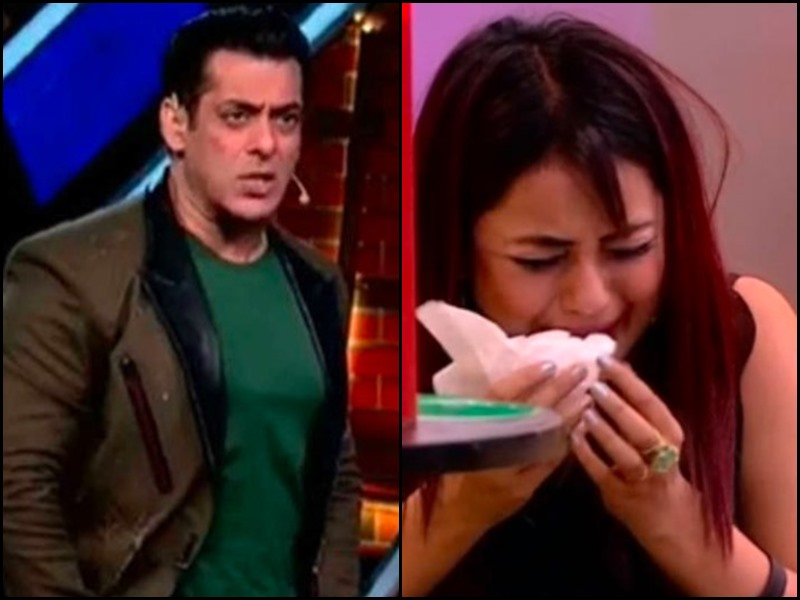 Bigg Boss 13: Shehnaaz Gill पर गुस्सा हुआ Salman Khan, कहा - मेरे सामने मत करो सिर पीटने, रोने-धोने का ड्रामा