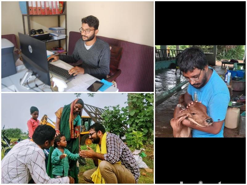 National Youth Day 2021: ग्राम विकास के संकल्प ने हजारों किलोमीटर की दूरी को पाट दिया