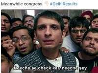 Delhi Election Results 2020: नतीजों के साथ ही सोशल मीडिया में ट्रोल होने लगी Congress, लोग कर रहे मजेदार ट्वीट्स