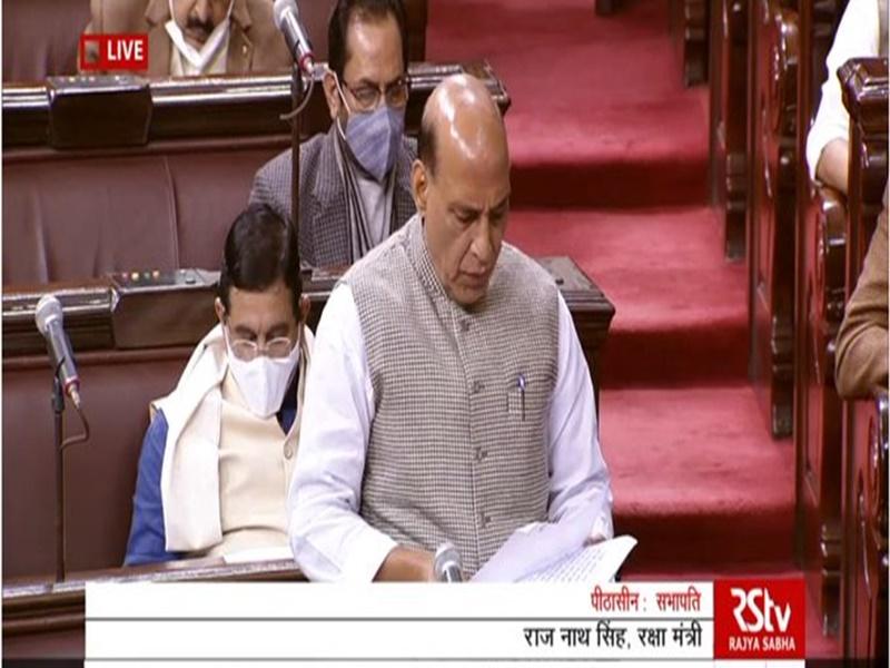राज्यसभा में बोले रक्षामंत्री राजनाथ सिंह, चीन के साथ हुआ समझौता, भारत ने कुछ नहीं खोया