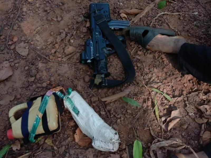 Anti Naxalite Operation: दंतेवाड़ा इलाके में नक्सलियों से मुठभेड़, एक इनामी नक्सली मारा गया