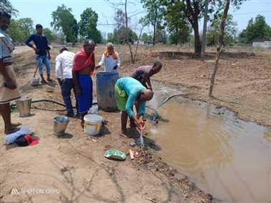 छुरा के रसेला में पानी की समस्या, ग्रामीण परेशान