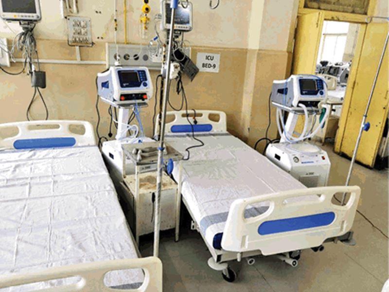 Covid Hospital in Indore: इंदौर के कैंसर अस्पताल में लगे वेंटिलेटर, अब कनेक्टर का इंतजार