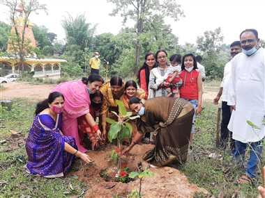वटवृक्ष दे वरदानः सरगुजा ने उत्साह के साथ निभाई भागीदारी
