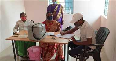 कोविड से सुरक्षित रहने जिले में 4912 लोगों ने लगवाया टीका