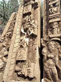 छतरपुरा गांव में खोदाई में मिली प्राचीन मूर्तियां, पहले भी निकल चुकी प्राचीन प्रतिमाएं