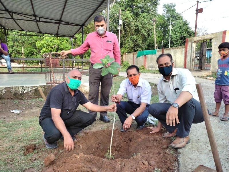Jabalpur Naiduniya Abhiyaan: पौधारोपण कर वृक्षों के संरक्षण का लिया संकल्प