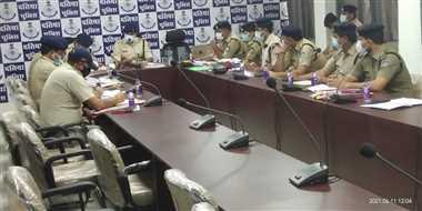 दतियाः महिला अपराधों का दो माह में करें निराकरण, क्राइम मीटिंग में मिले निर्देश