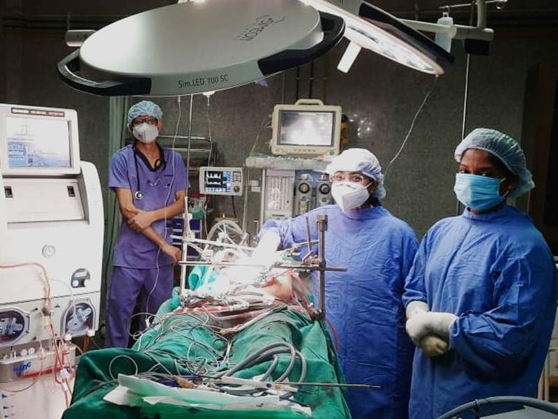 Cancer Treatment: आठ घंटे की सर्जरी और हाइपेक कीमोथैरेपी से कैंसर रोगी को मिली नई जिंदगी