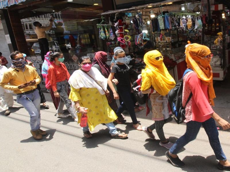 Bhopal Business News: दुकानदारों की उम्मीदें फीकी, 75 फीसद ग्राहकों में दिखा कोरोना का डर
