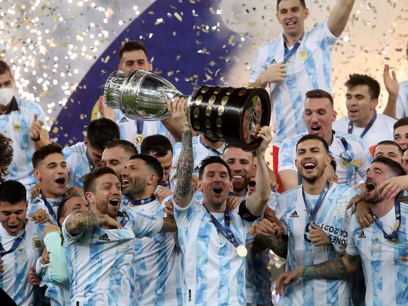 Copa America 2021 Final: Argentina won the Copa Cup by defeating Brazil  Messis dream came true