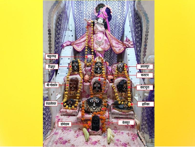 Janmashtami 2020 : धन के रूप में पूजी जाती हैं भगवान कृष्ण की स्पर्श वस्तुएं