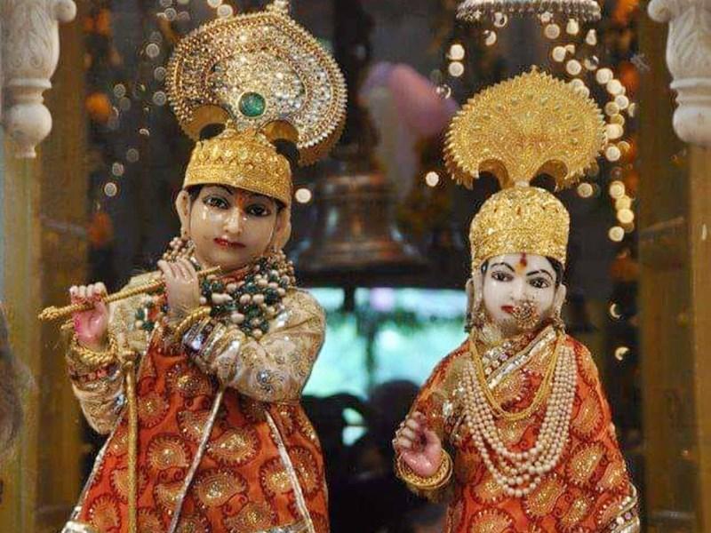 Janmashtami 2020 : 50 करोड़ से भी ज्यादा के गहनों से होगा राधा-कृष्ण का श्रृंगार, Live होंगे दर्शन