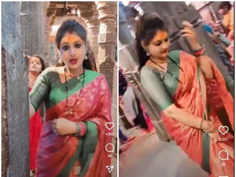 महाकाल मंदिर में डांस करने वाली महिला मनीषा रोशन के खिलाफ केस दर्ज