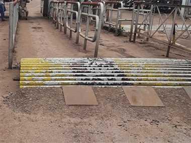 Issue In BSP News: बीएसपी के बोरिया गेट पर बनाया स्पीड ब्रेकर कर्मचारी हो रहे हलकान