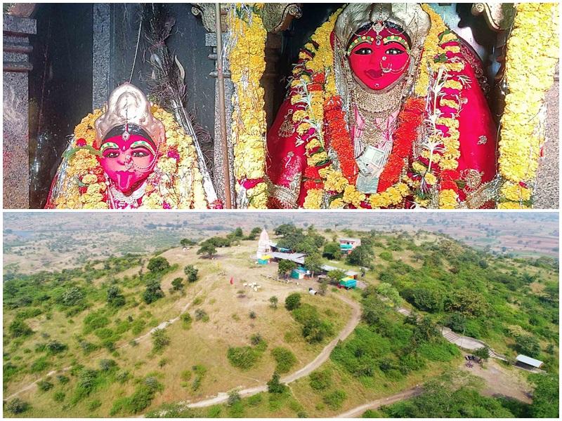 Sharadiya Navratri 2021:  रतलाम जिले में पहाड़ी पर बिना नींव के बना है पांडवकालीन कंवलका माता मंदिर