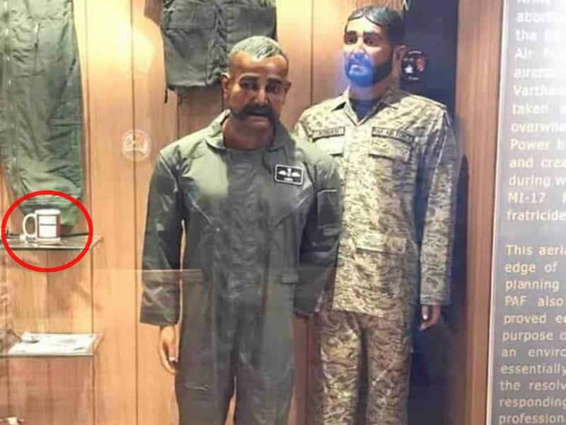 Wing Commander abhinandan का पुतला पाकिस्तान ने वॉर म्यूजियम में रखा