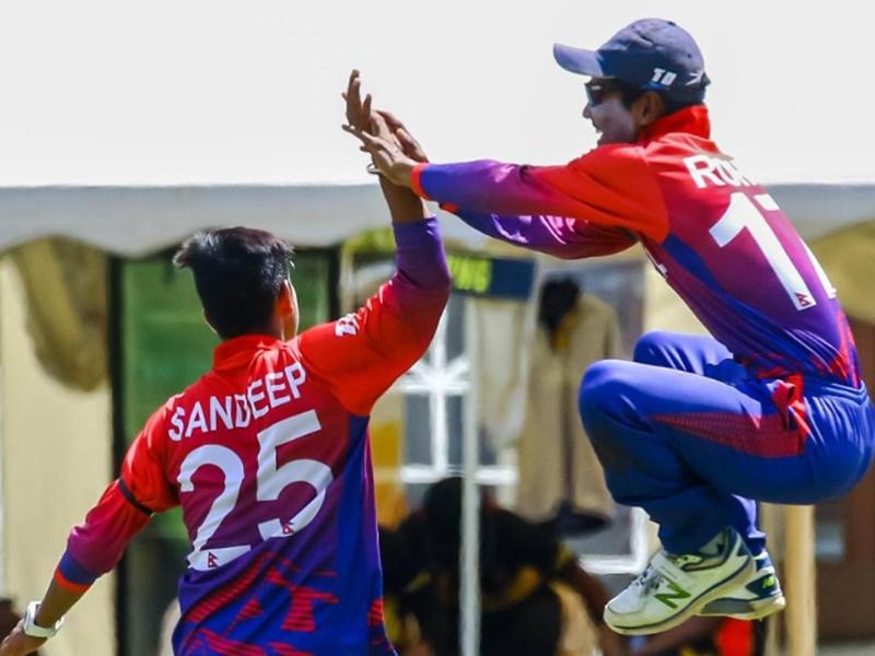 OMG! 35 रनों पर सिमटी यह टीम, दर्ज हुआ ODI का सबसे कम रनों का रिकॉर्ड, Sandeep Lamichhane छाए