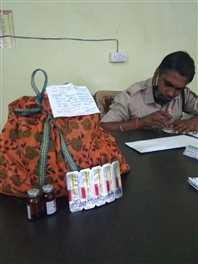 नशेड़ियों को खपाने लाए 166 नग इंजेक्शन के साथ युवक गिरफ्तार