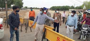 श्योपुरः ' हम आपकी सुरक्षा के लिए दिनरात सड़कों पर रहते, आप लोग घर में नहीं रह पाते'
