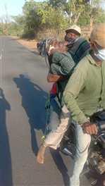 बाइक में शव बांधकर ले जाने के मामले में जांच के आदेश