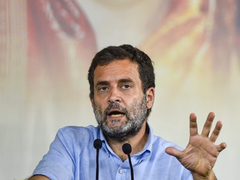 गुजरात भाजपा अध्यक्ष ने कहा कांग्रेस नेताओं की गलत बयानी पर राहुल गांधी मांगें माफी