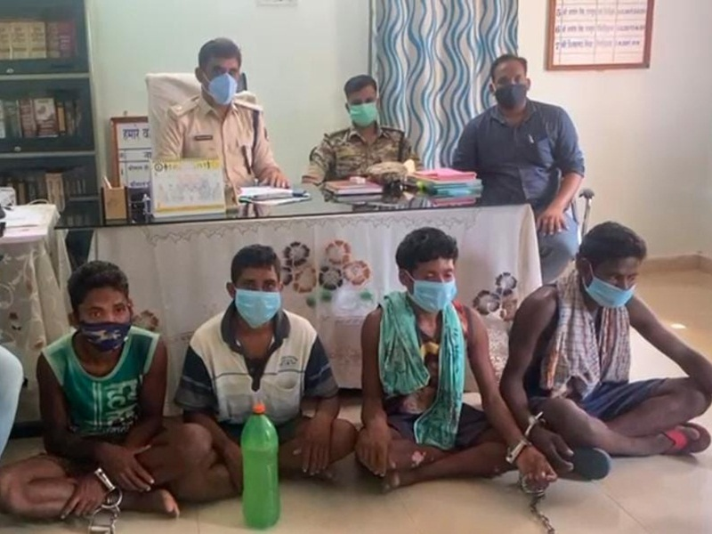 Naxalite Arrest In Sukma: जवान की हत्या और आगजनी में शामिल छह नक्सली गिरफ्तार