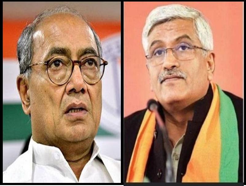 दिग्विजय के बयान पर बोले केंद्रीय मंत्री, रिकॉर्ड उठाकर देख लें, भारत में पाक का काम देखती है कांग्रेस