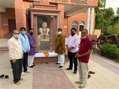 अमर शहीद पं. रामप्रसाद बिस्मिल को जयंती पर जिलेभर में किया गया यााद