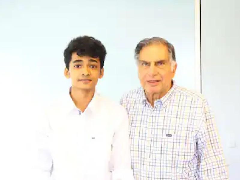 Ratan Tata को बिजनेस टिप्स देता है  28 साल का युवक, जानिए शांतनु नायडू के बारे में